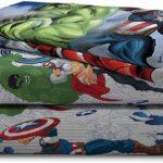 Marvel Avengers Blue Circle Bed Set Full Size 9