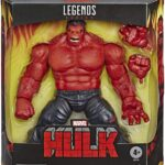 Marvel Deluxe Exclusive Legends Red Hulk Action Figure 2