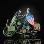 Marvel Legends Series 6″ Captain America Action Figure With Motorcycle World War II, Shield And Helmet 11