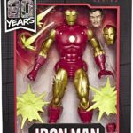 Marvel Legends Series 80th Anniversary Comic-Inspired Vintage Iron Man 6Inch