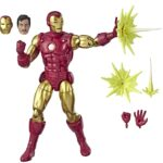 Marvel Legends Series 80th Anniversary Comic-Inspired Vintage Iron Man 6Inch9