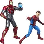 Marvel Legends Spider-Man Homecoming with Iron Man 2-Pack