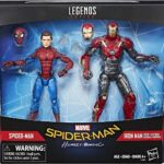 Marvel Legends Spider-Man Homecoming with Iron Man 2-Pack 2