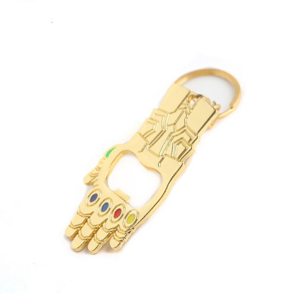 Thanos Infinity Gauntlet Bottle Opener Keychain