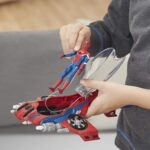 Spider Man Far From Home with Spider-Jet Vehicle Action Figure 6-Inch 11