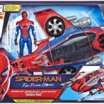 Spider Man Far From Home with Spider-Jet Vehicle Action Figure 6-Inch 2