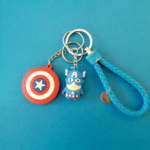 Superheroes Shields and Figures Keychains (10 different designs) 4