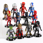 Set of 12 Avengers Collectible Figures 3.9inch 2 6