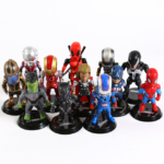 Set of 12 Avengers Collectible Figures 3.9inch 2 7
