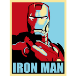 Iron Man Print Poster 18×24 Inches 2