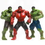 Red and Green Hulk Action Figures Collectible 10inch 1