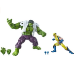 Marvel Legends 80th Anniversary Wolverine and Hulk 2-Pack Action Figures 6-Inch 2