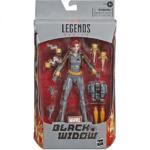 Marvel Legends Black Widow Grey Suit Exclusive Action Figure 6-inch