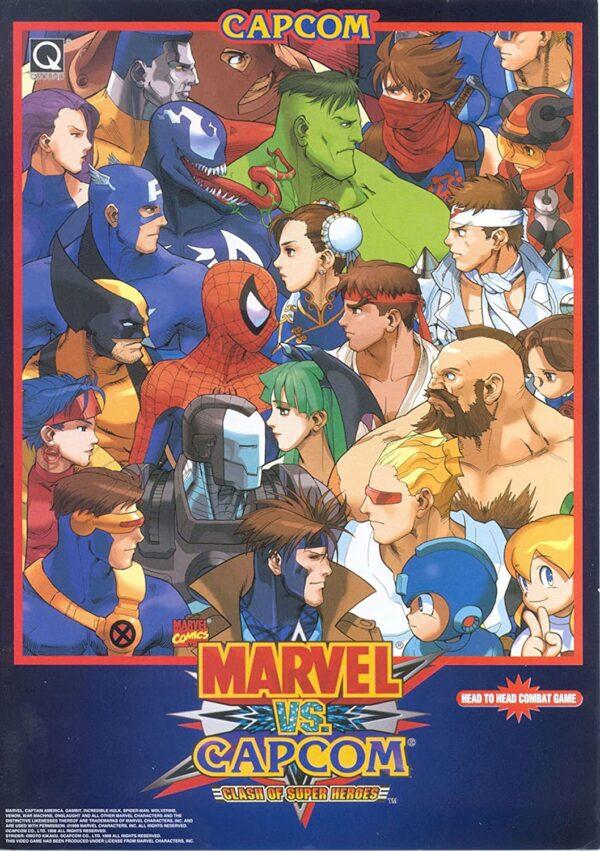Marvel vs Capcom Classic Poster