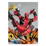 Deadpool Breaking The Fourth Wall Statue 11