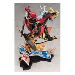 Deadpool Breaking The Fourth Wall Statue 12