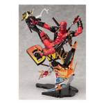 Deadpool Breaking The Fourth Wall Statue 14