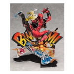 Deadpool Breaking The Fourth Wall Statue 15