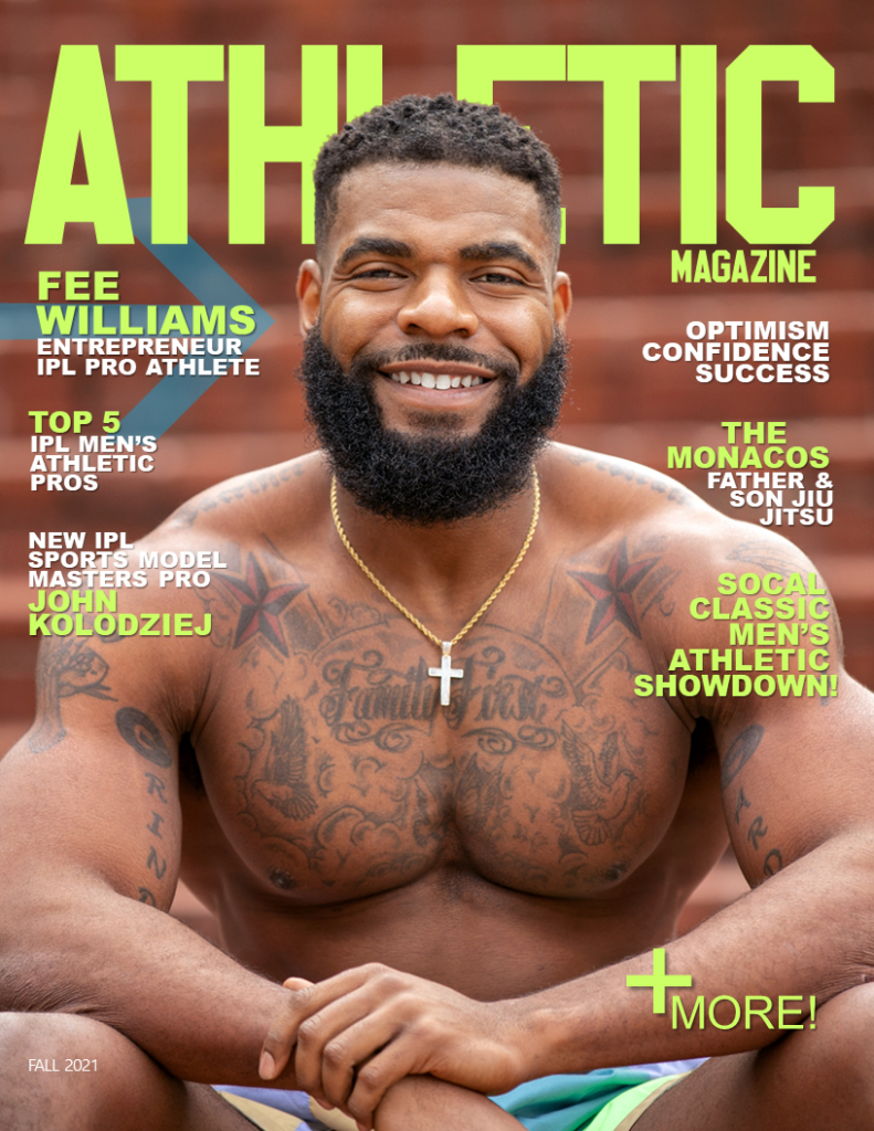 ATHLETIC MAGAZINE ISSUE #3 FALL 2021 COVER!