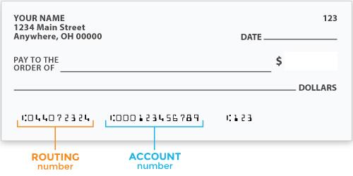 Sample Cheque
