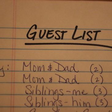 Creating a Guest List