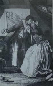 """""""The Sailor's Farewell"""" by Mosely, 1744"""