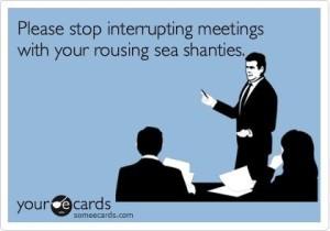 Interrupting Meetings