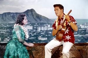 Elvis in Hawaiian Shirt
