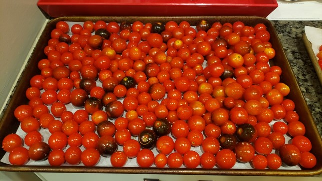 Roasted Cherry Tomato Spaghetti Sauce