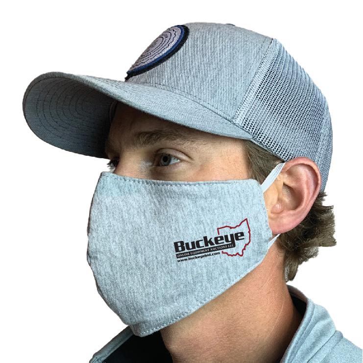 Buckeye Custom Face Mask Design
