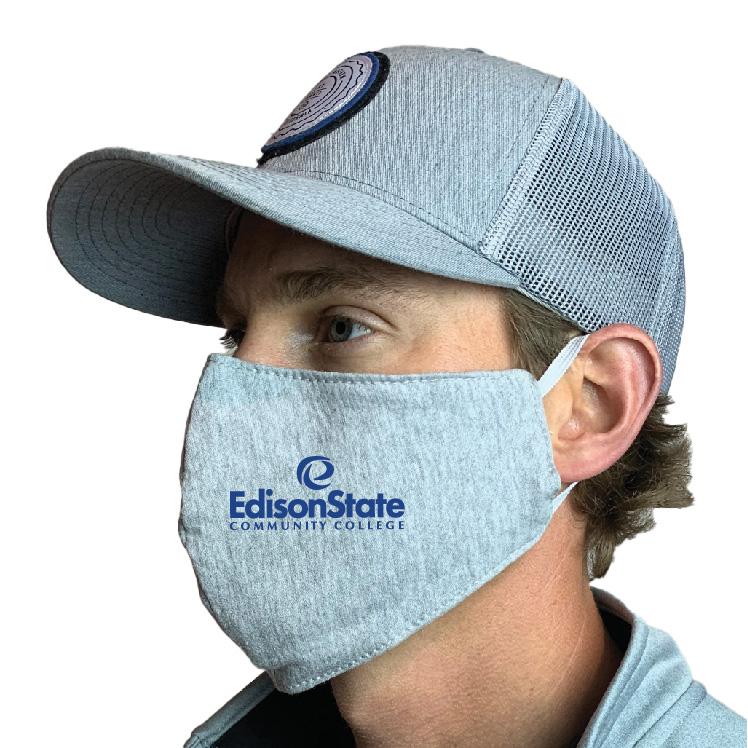Edison State Community College Custom Face Mask Design