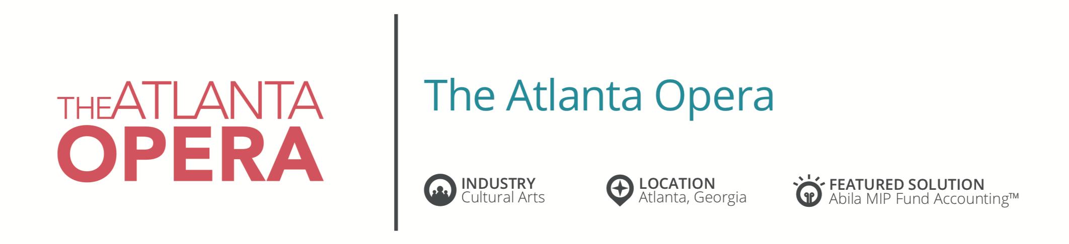 Nonprofit Finance Success Atlanta Opera