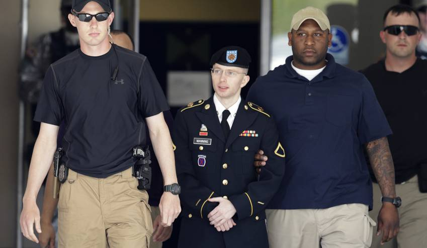 PFC Manning Forced to Strip Naked
