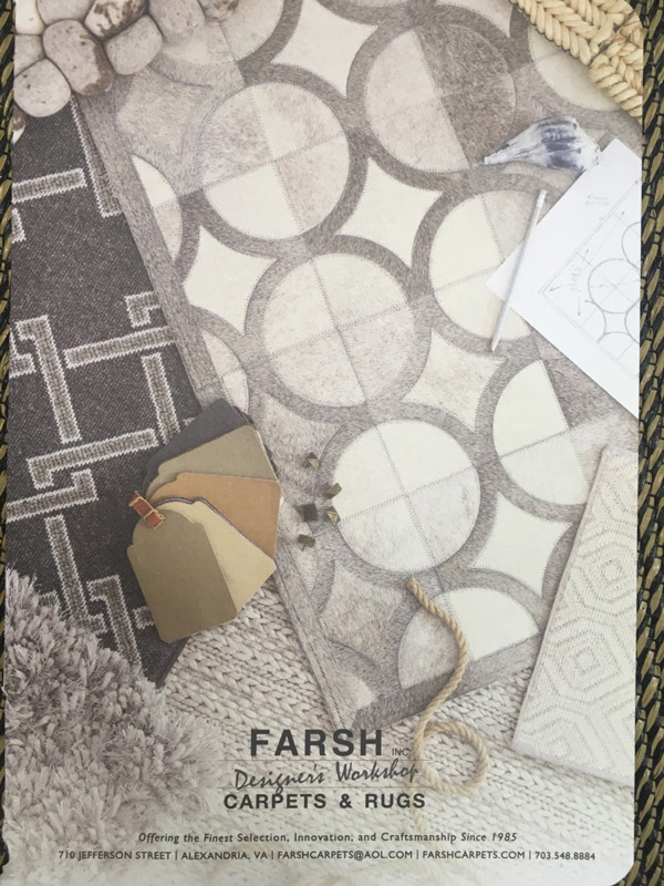 Carpet Samples and Swatches by Farsh Carpets and Designs