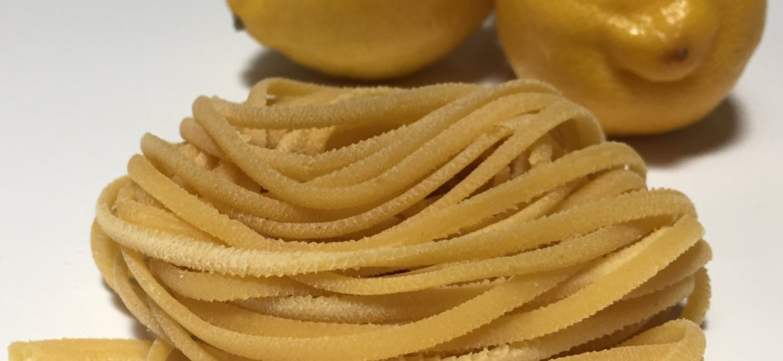fresh lemon linguine