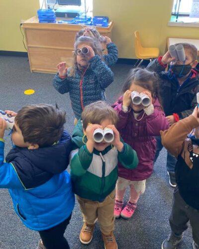 Preschoolers discovering