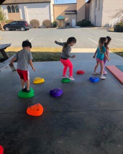 Preschoolers at Play