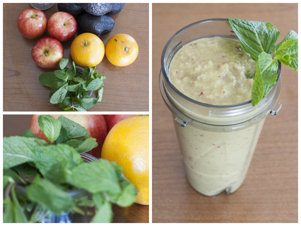 a green smoothie and its ingredients 2