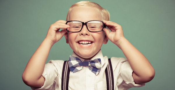 child dressed up in a bowtie and glasses 2