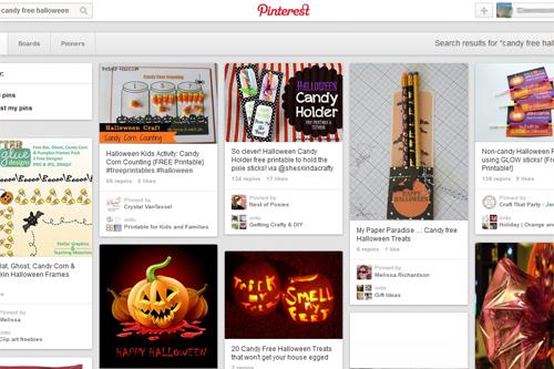 halloween Pinterest board 2