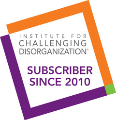 Logo for Institute for Challenging Disorganization Subscriber since 2010