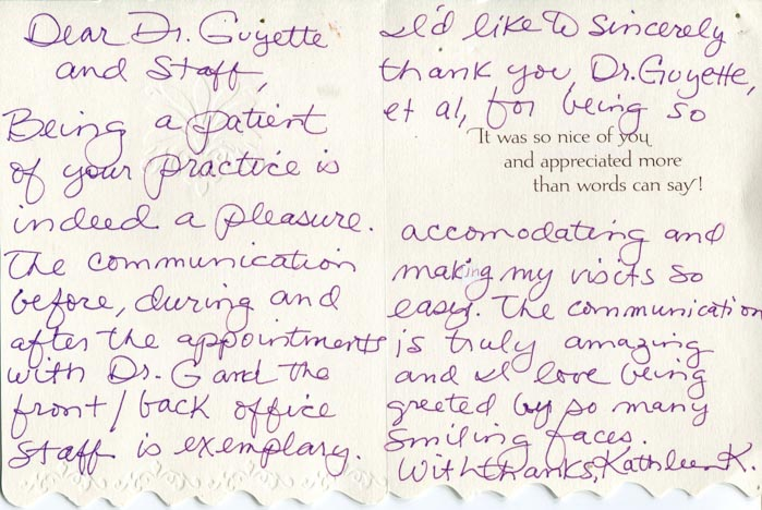 Review - Guyette Facial & Oral Surgery