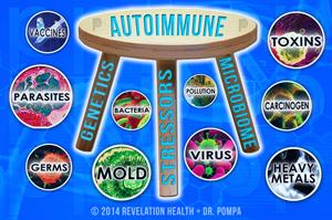 "The  Cellular Autoimmune Answer:  ""Three-Legged Stool"""
