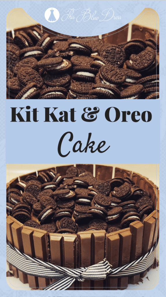 Kit Kat and Oreo Cake This simple, delicious recipe will make a statement at any party or event!