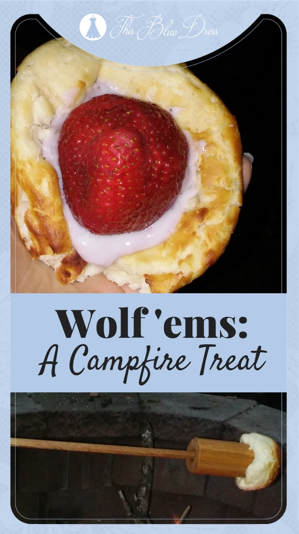 Wolf'ems Campfire Treat #biscuits #campingfood #desserts #campfire