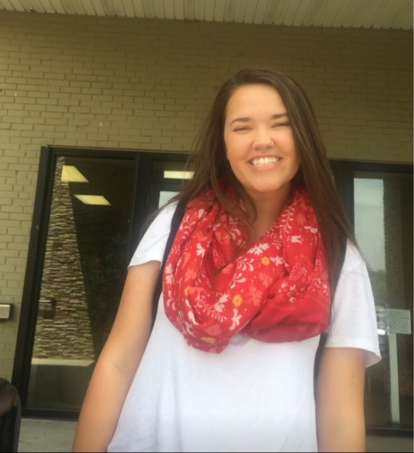 Madison smiles on last day of community college
