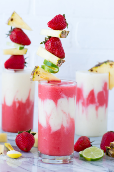 Miami Vice Mocktail by The First Year Blog