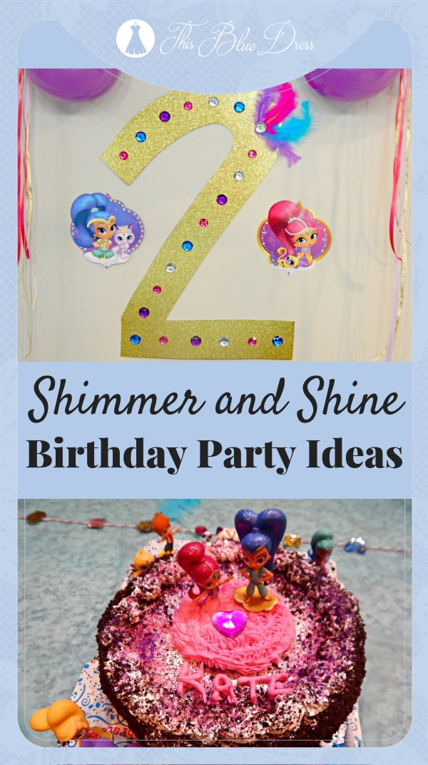 Shimmer and Shine Birthday Party Ideas #shimmerandshine #nickjr #party