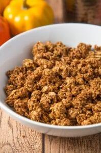 Pumpkin Spice Granola from Annie's Noms
