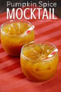 Pumpkin Spice Mocktails from Frugal Living Mom